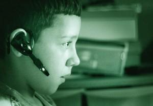 Gaming Child Online: Black Ops