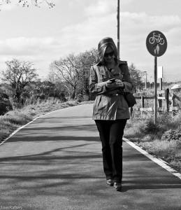 Walking and Texting uKnowKids