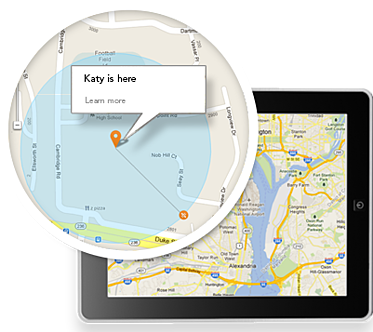 Location Monitoring using uKnowKids
