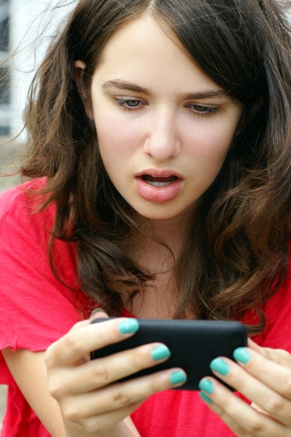 sexting, shocked