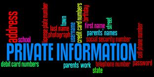 private information uknowkids