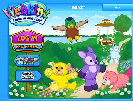 Webkinz Screen Shot