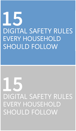 15 digital safety rules every household should follow