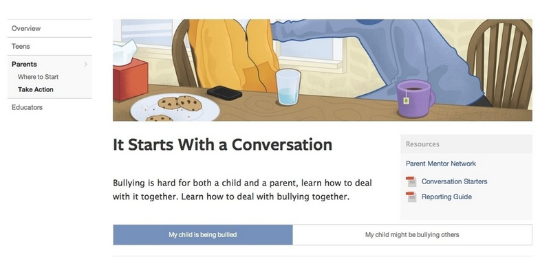 facebook cyberbullying
