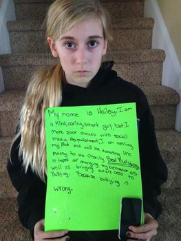 cyberbullying teen gets a taste of own medicine