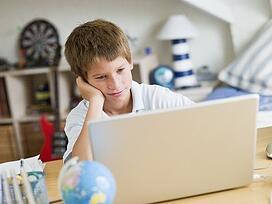 web savvy children