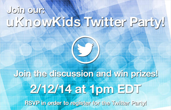 uKnowKids twitter party