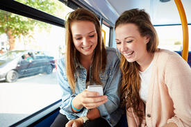 teens on phone